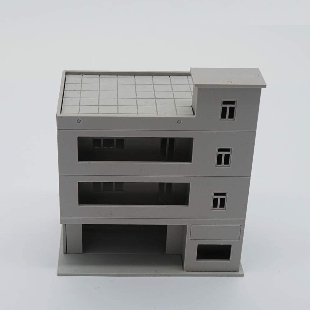 Outland Models Railway Scenery Layout City Apartment N Scale