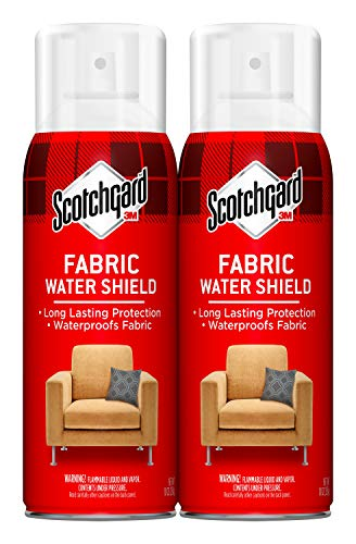 Scotchgard Fabric Water Shield, Long Lasting Protection, 20 Ounces (Two, 10 Ounce Cans)