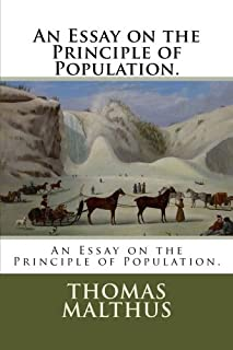 An Essay on the Principle of Population.
