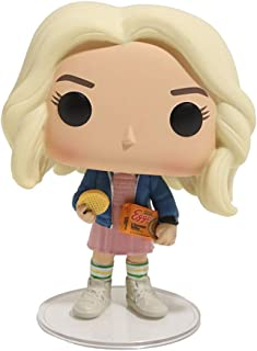 Funko Pop Hand Model Doll Decoration Stranger Things Eleven with Eggos Vinyl Figure Toy for Kids