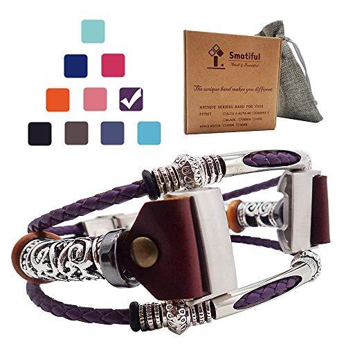 Smatiful Charge 3 Cinturino, Adjustable Replacement Accessori Sport Cintura per Fitbit Charge 3,Lavanda Purple Lilla Viola