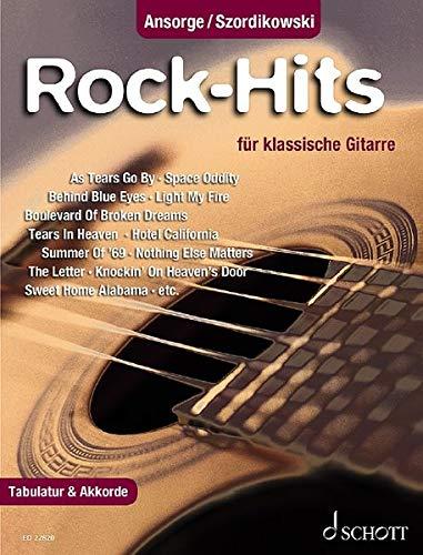 Rock-Hits: 25 beliebte Songs. Gitarre. Spielbuch.