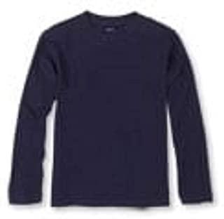 The Children's Place Boys Long Sleeve Navy T- Shirt