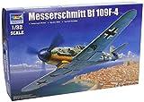 Kit Maquette d'Avion de Chasse Allemand Trumpeter 1/32 Messerschmitt Bf109F4