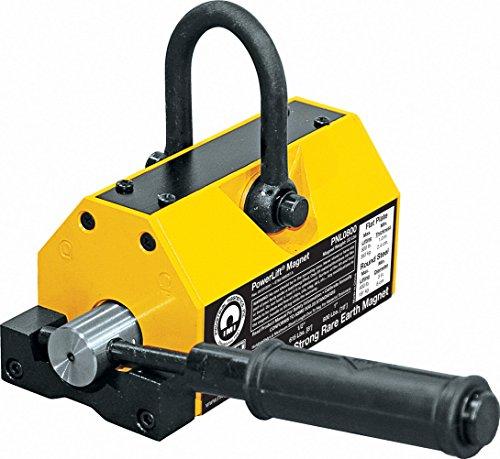 MAG-MATE PNL0800 Powerlift Magnet, 800 lbs Lift, Yellow