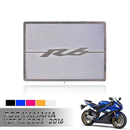 Hui Ni radiator rooster afdekking voor Y A M A H A YZF R6 2006-2018 Zwart