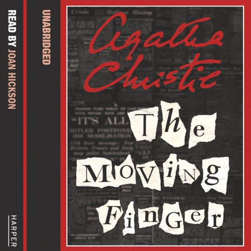 The Moving Finger audiobook cover art