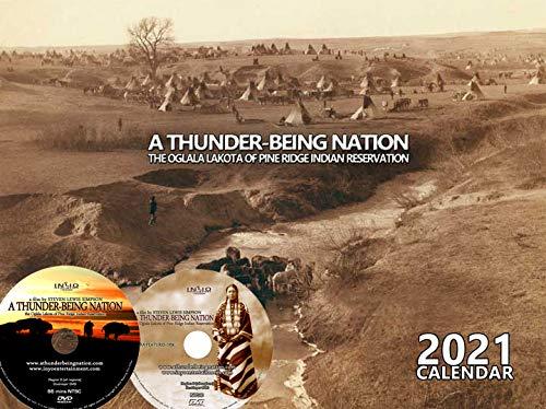 A Thunder-Being Nation - The Olglala Lakota of Pine Ridge Indian Reservation Ultimate Edition DVD &2021 Calendar