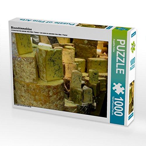 CALVENDO Puzzle Blauschimmelkäse 1000 Teile Lege-Größe 64 x 48 cm Foto-Puzzle Bild von Angelika Keller
