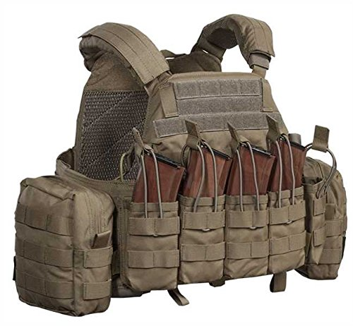 Warrior DCS AK 7.62 mm Plate Carrier Coyote, L, Coyote
