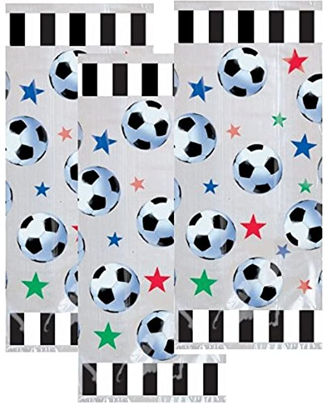 Soccer Party Goody Bags - Soccer Party Favors Bag - 60 Count
