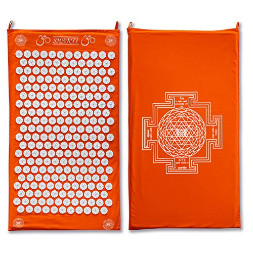 The Shakti Mat | The Original Acupressure Mat | Deep Relaxation in 20 Minutes | Ethically Handcrafted with Organic Materials | Made to Last a Lifetime | 60-Day Returns | 10,000 Online Reviews