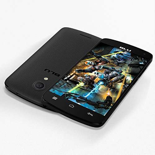 BLU Studio X8 HD - 5.0 GSM Unlocked Smartphone -Black