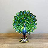 Y DWAYNE Estatuas para el hogar de Pavo Real de Resina Natural Europea para decoración Estatua de Animal Schleich decoración Ornamento Regalo