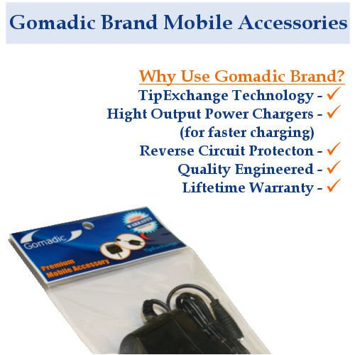 Power Hot Sync and Charge USB Data Cable w/Tip Exchange for The Sony Clie T625C - Gomadic Brand
