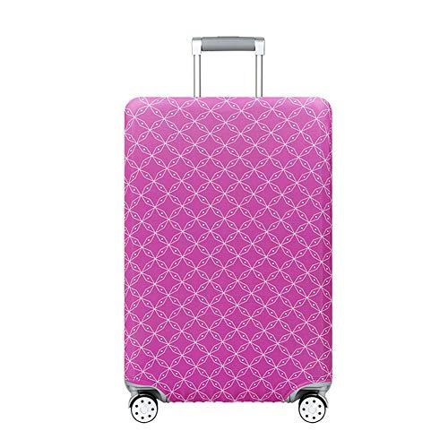GIYL bagagehoes, kofferhoes, beschermhoes van polyester-spandex-koffer, beschermhoes tegen krassen, voor bagage van 18-32 inch