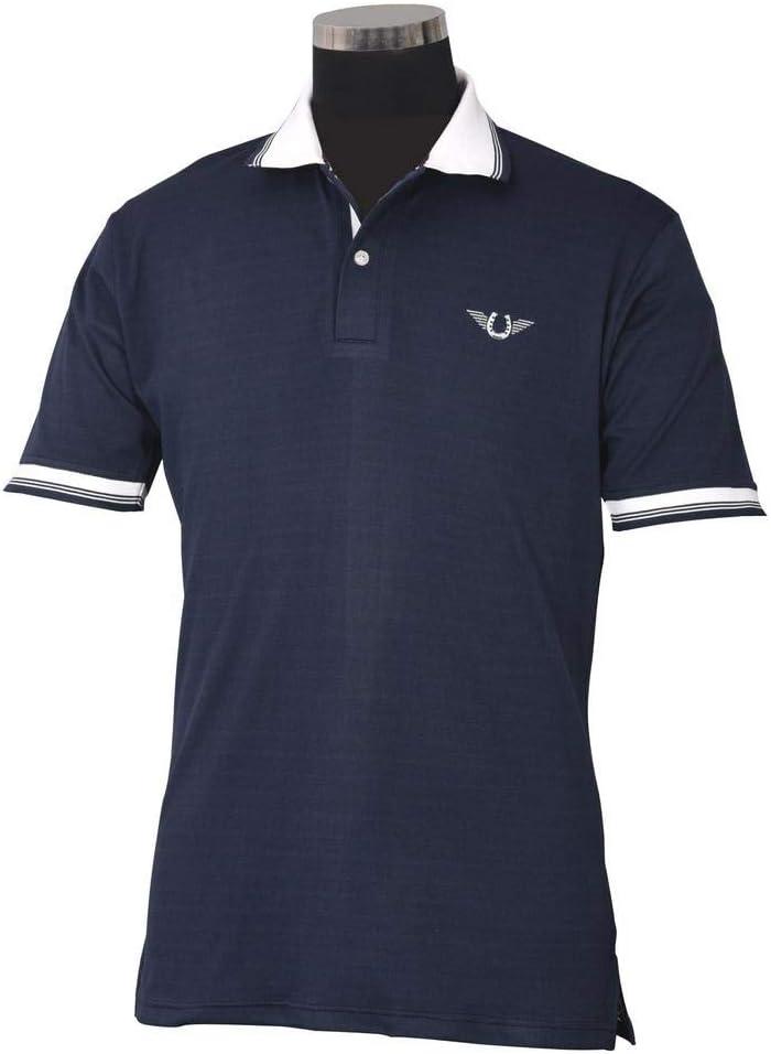 TuffRider Men's Mark Short Sleeve Shirt 35% OFF Soldering Sport Polo