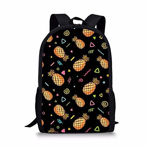Advocator, Zainetto per bambini, Pineapple-4 (Viola) - Advocator packable backpack