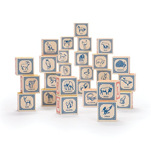 Uncle Goose Classic ABC Blocks - Made in The USA