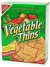 Nabisco Vegetable Thins Crackers 8.0 oz.( 2 Pack)