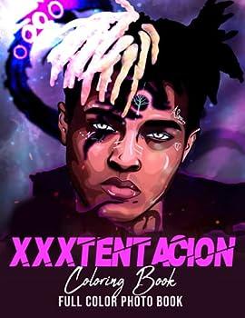 xxxtentacion coloring page