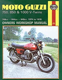 Moto Guzzi 750, 850, and 1000 V-Twins, 1974-78 (Owners' Workshop Manual) (Haynes Repair Manuals)
