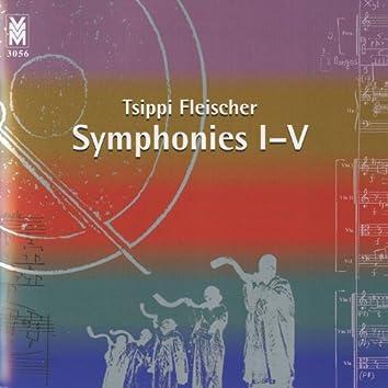 Fleischer: Symphonies I-V