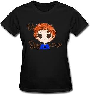 Duanfu ed Sheeran Women's Cotton Short Sleeve T-Shirt