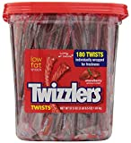 Twizzlers Strawberry Twists Candy, 180 Count