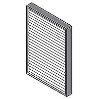 日立 空気清浄機用交換フィルターHITACHI 集塵フィルター EPF-LVG110H