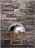 Steintapete Vliestapete Braun , schöne edle Tapete im Steinmauer Design , moderne 3D Optik für Wohnzimmer, Schlafzimmer oder Küche inklusive Newroom Tapezier Profibroschüre, mit Tipps für perfekte Wände