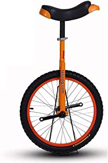 Unisex Adult Unicycle Balance Bike with Non-Slip Pedals, 20 Inch, Ages 10 Years & Up, for Big Kids & Beginners Whose Heigh...