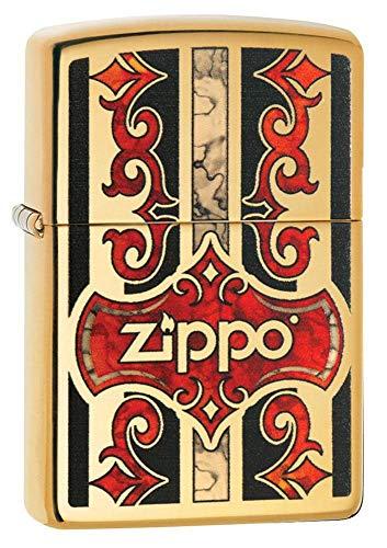 Imagen del productoZippo Z Fusion - Encendedor de Gasolina (latón, 6 x 6 x 8 cm)
