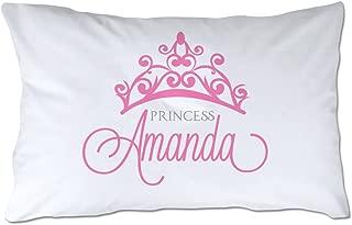 Pattern Pop Personalized Princess Pillowcase