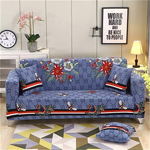 WXQY Funda de sofá elástica para salón, Funda de sofá elástica, Funda de sofá Horizontal, Funda de sillón de Esquina en Forma de L, Funda de sofá A7 1 Plaza