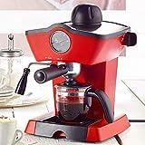 Monsterzeug Siebträger Espressomaschine, Retro Siebträgermaschine, Espresso Kaffeemaschine...