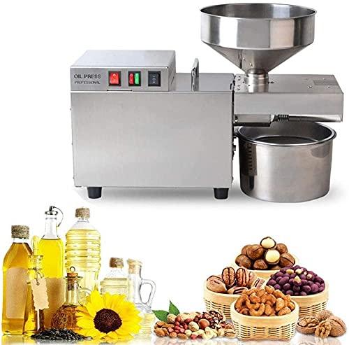 wsbdking Máquina automática automática de la prensa de aceite eléctrico de 12000W...