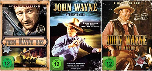Die große John Wayne Western Collection - 29 Filme [8 DVDs]