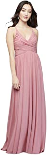 Best soft pleated mesh gown with illusion back Reviews