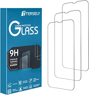 T Tersely Tempered Glass Screen Protector for iPhone 13 Pro & iPhone 13 [6.1 inch][3 Packs] with Installation Alignment Fr...