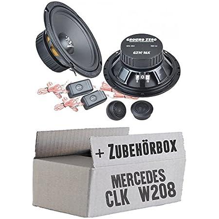 Ground Zero Gzic 16x 16cm Lautsprecher System Einbauset Für Mercedes Clk W208 Front Just Sound Best Choice For Caraudio Navigation