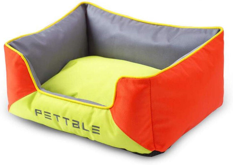 Dog Sofa Kennel Oxford Cloth Dog Bed Cat Sofa Detachable Nest Pad Small and Medium Dog Pet Supplies