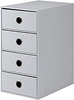 Rössler 1524452174 / S.O.H.O. Module de rangement 4 tiroirs Gris (Import Allemagne)