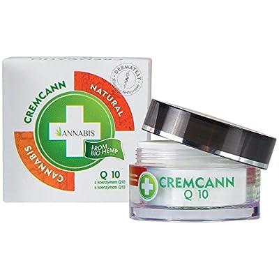 Annabis Cremcann Q10 - 50ml - Skin Cream with Hemp and Coenzyme Q10. from Annabis Medical S.r.o.