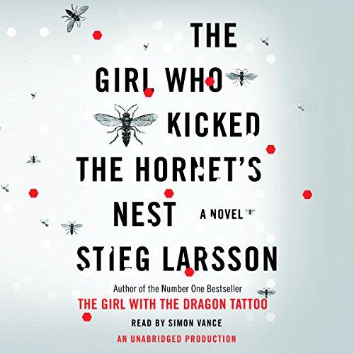 The Girl Who Kicked the Hornet's Nest audiobook cover art