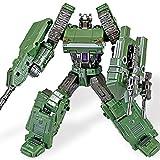 siyushop Transformar El Robot De La Acción De La Acción del Robot, Autobot, El Juguete del Modelo De Robot, Juguete De La Deformación Infantil - Regalo De Robot Niños ( Color : Green )