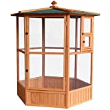 Easipet Large Wooden Aviary Bird House 74868