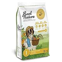 Real Nature Holistic Dog Food リアルネイチャー NO.1プレイリーラム (機能性フード・被毛と皮膚のケア) (4kg)