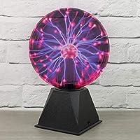 Global Gizmos A-szcxtop(TM) Bola de Plasma mágica USB Esfera para Fiestas luz Nocturna - 20cm