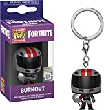 LAST LEVEL- Pocket Llavero Pop FORTNITE: Burnout, Multicolor (Funko 1)...